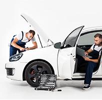 Professionelle-Fahrzeugbesichtigung
